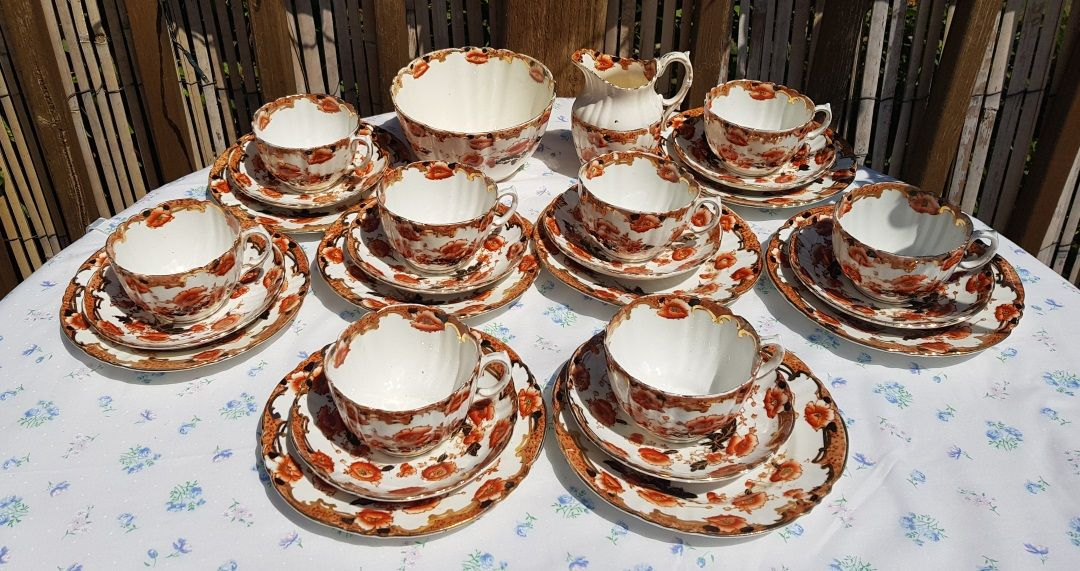 Royal Albert Ena Handpainted Teaset