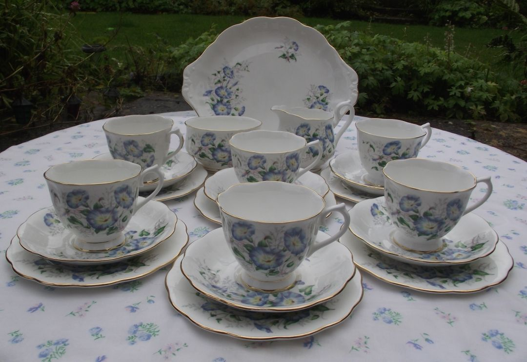 Royal Albert Friendship Morning Glory