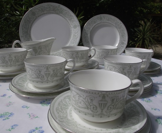 Royal Worcester Allegro Tea Set