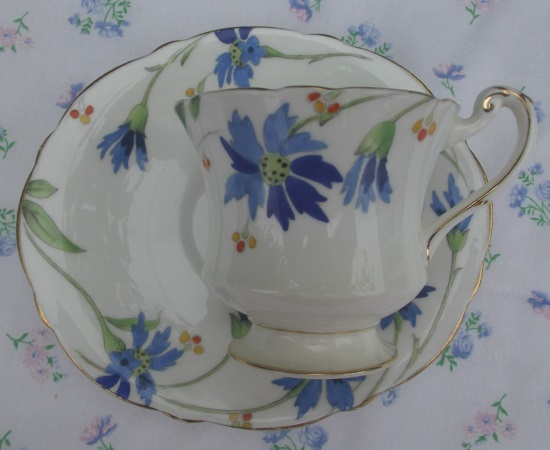 Paragon Cornflower Oval Small Duo