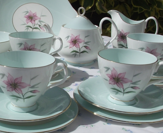 Royal Albert Elfin Complete Tea Set