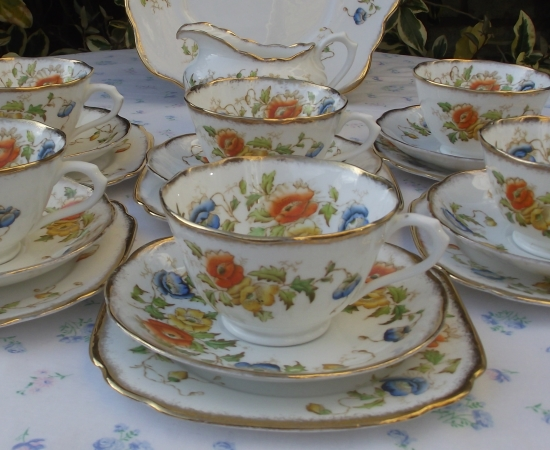 Royal Albert Crown China Tea Set