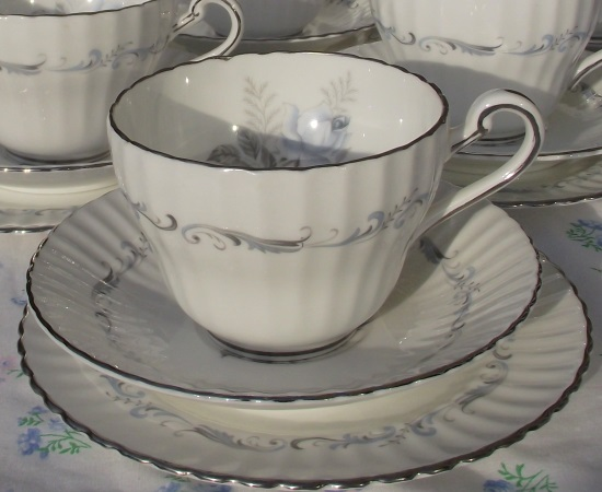 Paragon 'Morning Rose' Tea Set