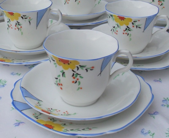 Melba Art Deco Tea Set