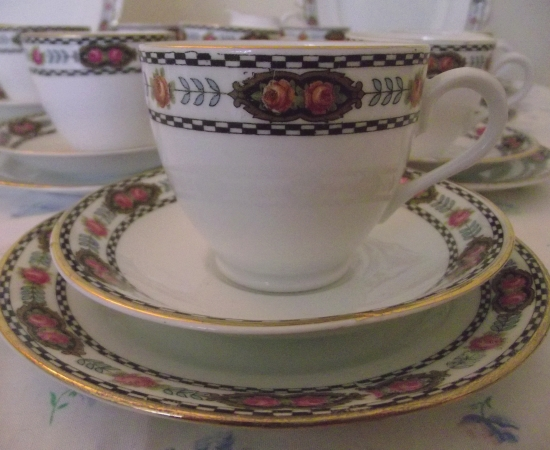 Clifton China Victorian Tea Set