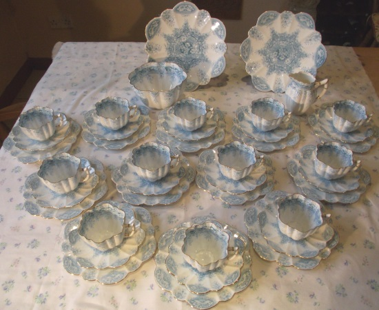Wileman Daisy Double Tea Set
