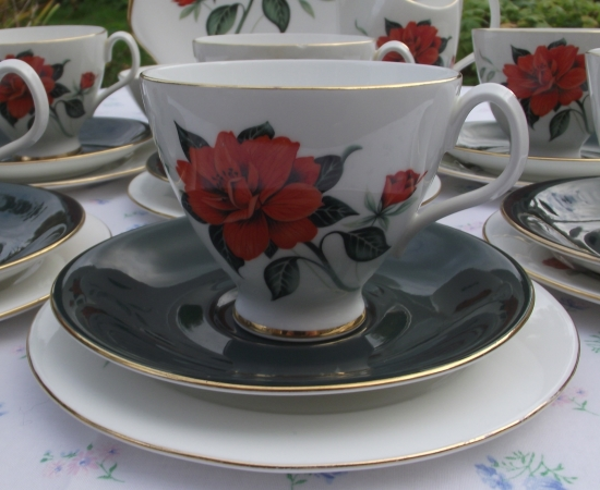Royal Albert Tahiti Tea Set