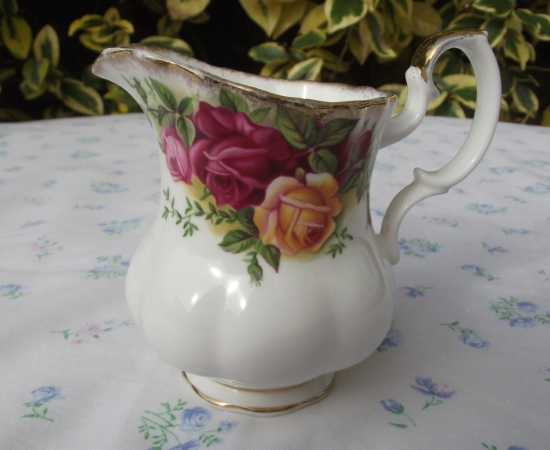 Old Country Roses Small Cream Jug
