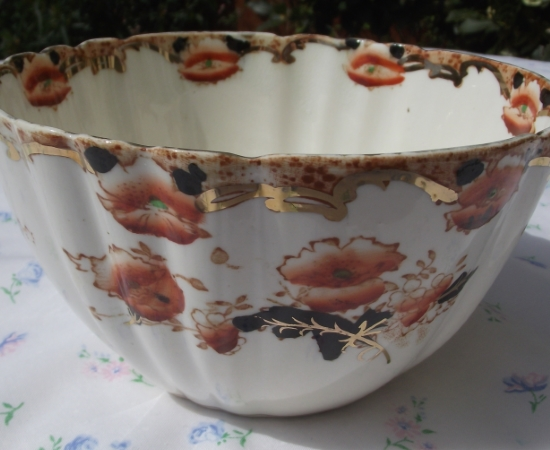 Royal Albert Ena Handpainted Sugar Bowl
