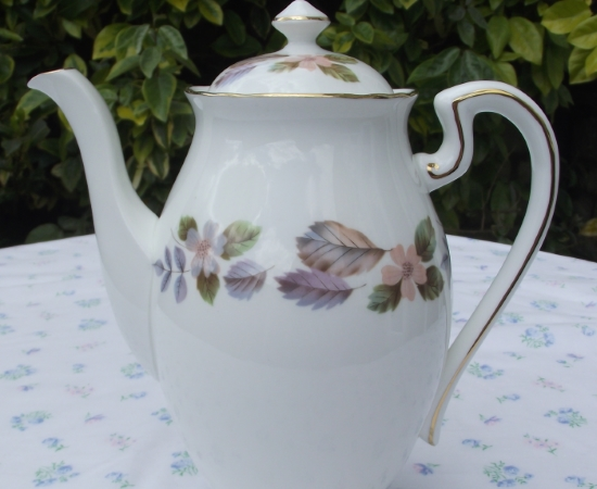Aynsley April Rose Coffee Pot