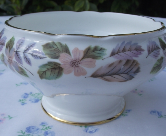 Aynsley April Rose Sugar Bowl