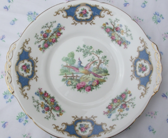 Coalport Broadway Blue Serving Plate