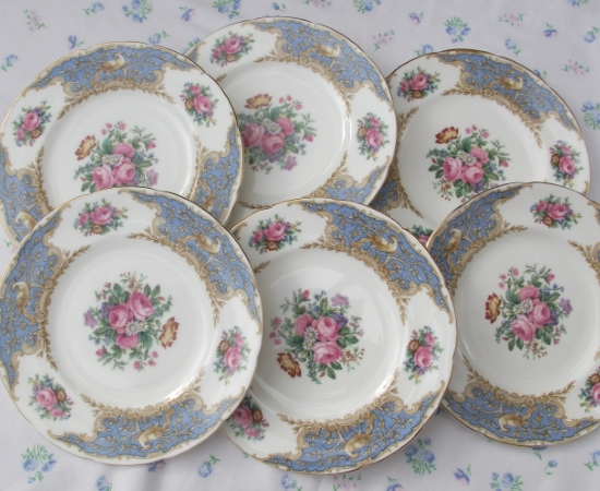 Coalport Montrose - Set of 6 Tea Plates